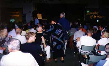 Konferens i Tylösand - scen