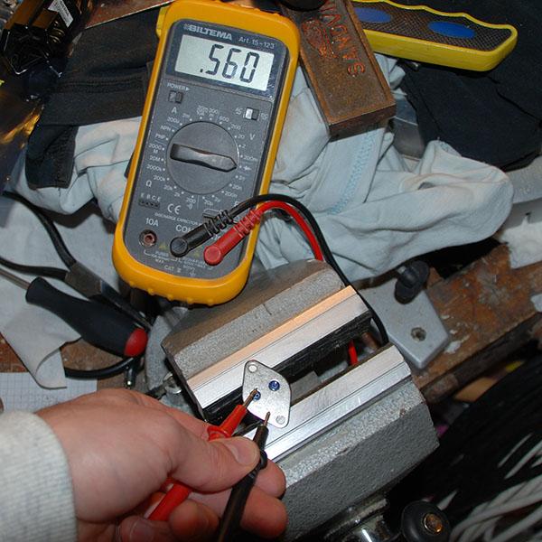 0,5 volt bas - kollektor