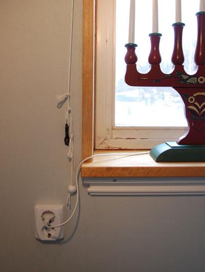 Bredvid fönster