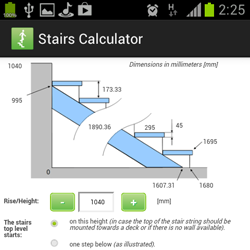 Stairs Calculator for Android