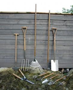 Trädgårdsredskap från Joraform