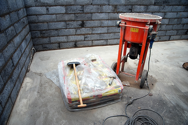 Cementblandare