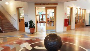 Åsa Bibliotek Entré