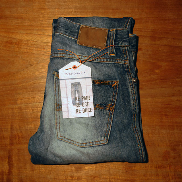 Nudie Jeans RePair ReUse ReDuce