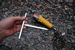 T-nyckel för karmskruv