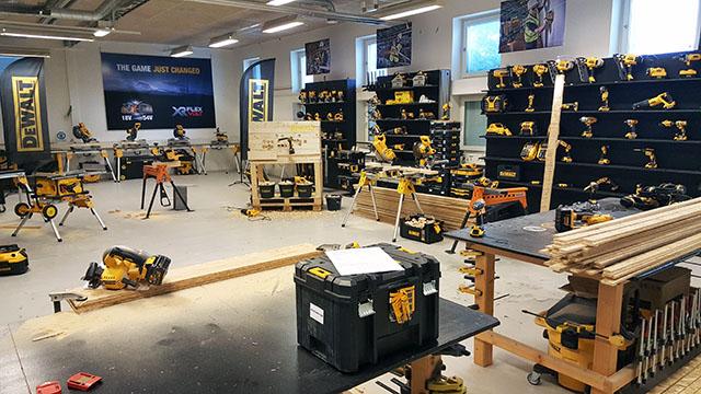 DeWalt Utbildningslokal i Göteborg