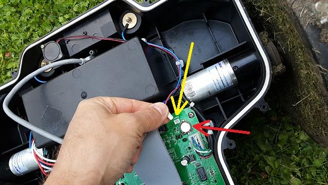 Omtalade Byta batteri i MEEC robotgräsklippare » Byggoteknik.se WT-47