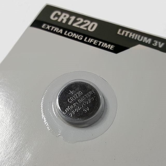 CR1220 litiumbatteri