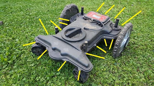 Fantastisk Byta batteri i MEEC robotgräsklippare » Byggoteknik.se XJ-21