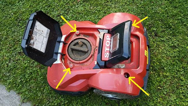 Strålande Byta batteri i MEEC robotgräsklippare » Byggoteknik.se OD-13