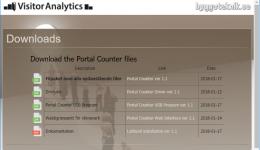 Portal Counter Downloads