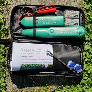 1 Grimsholm Kabelbrottsdetektor med batteri och klämmor